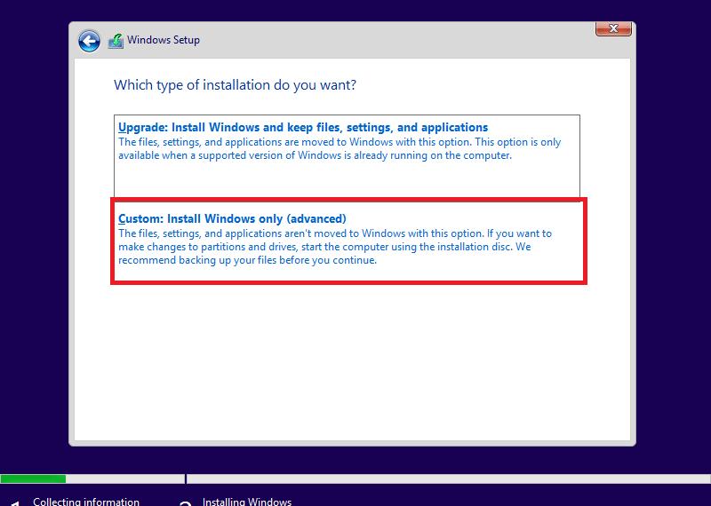 Cài đặt Windows 10 chuẩn UEFI/GPT với USB WinPE