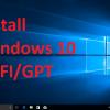 Hướng dẫn cài đặt Windows 10 chuẩn UEFI/GPT với USB WinPE