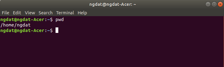 Terminal #1: Các lệnh thông dụng làm việc với file và thư mục