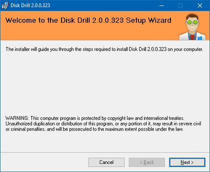 Khôi phục dữ liệu đã xóa Windows 10 sử dụng Disk Drill