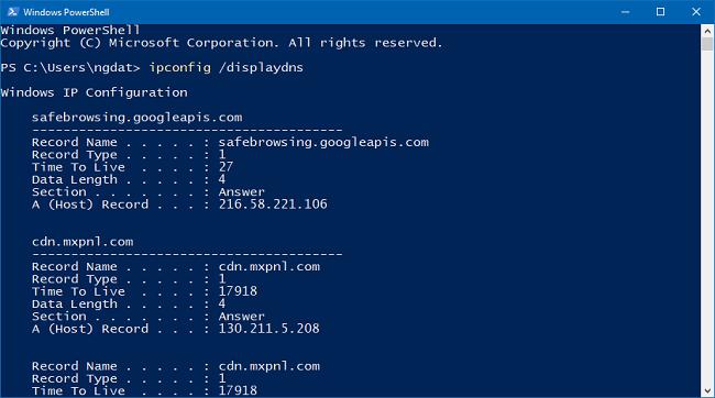 Cách xóa/flush cache DNS trên Windows, Linux bằng lệnh
