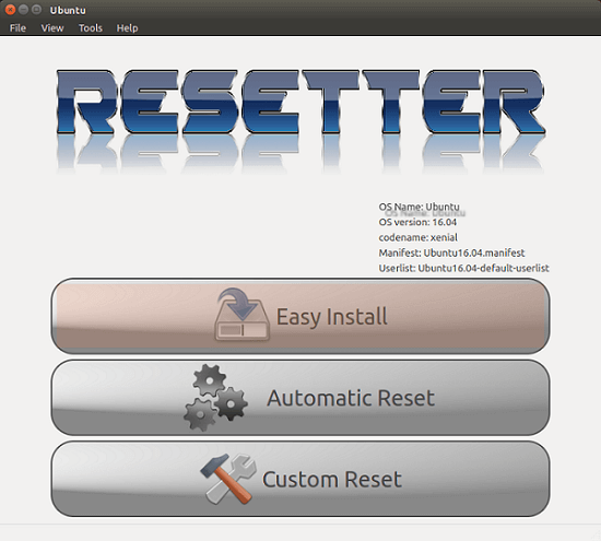 Cách reset lại Ubuntu về trạng thái ban đầu không cần cài đặt lại