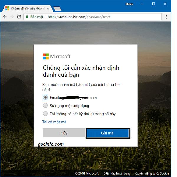 Cách Reset mật khẩu đăng nhập Windows 10 khi quên