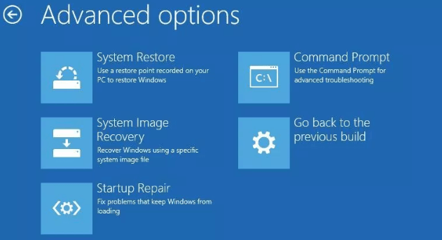 Hướng dẫn Restore Windows 10 từ file sao lưu