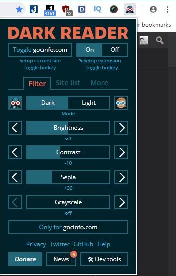 Hướng dẫn bật chế độ ban đêm trên trình duyệt Chrome và FireFox với Dark Reader