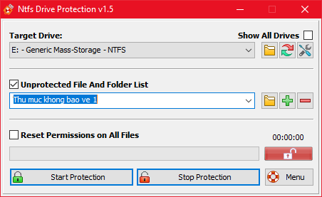 Bảo vệ USB khỏi virus bằng cách chống ghi dữ liệu USB