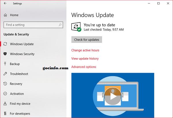 Những việc cần làm sau khi cài Windows 10