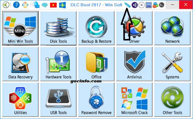 Click tạo USB cứu hộ đa năng chuẩn UEFI - Legacy trên DLC Boot