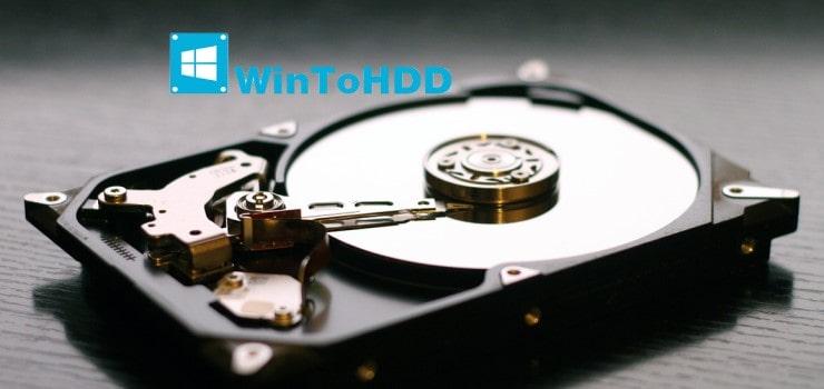 Cài Windows 10 từ ổ cứng không cần USB