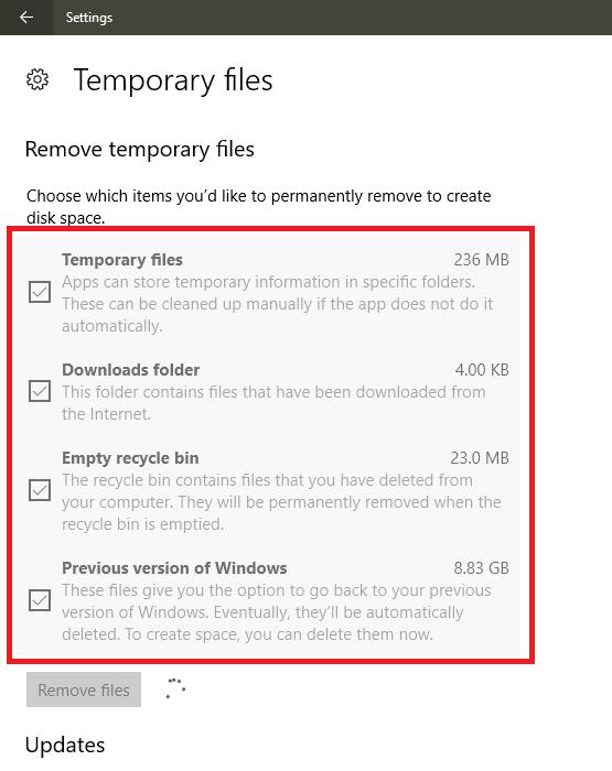 Hướng dẫn xóa file rác, dọn dẹp ổ đĩa máy tính Windows