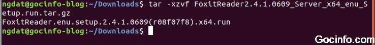 Nén và giải nén file với lệnh TAR trên Linux (Ubuntu)