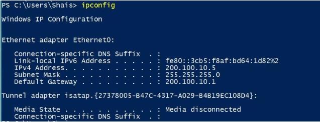 Làm mới - Reset địa chỉ IP Windows 10 bằng lệnh
