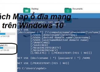 Hướng dẫn Map Network Drive trên Windows 10