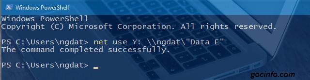 sử dụng giao diện dòng lệnh CMD hoặc PowerShell