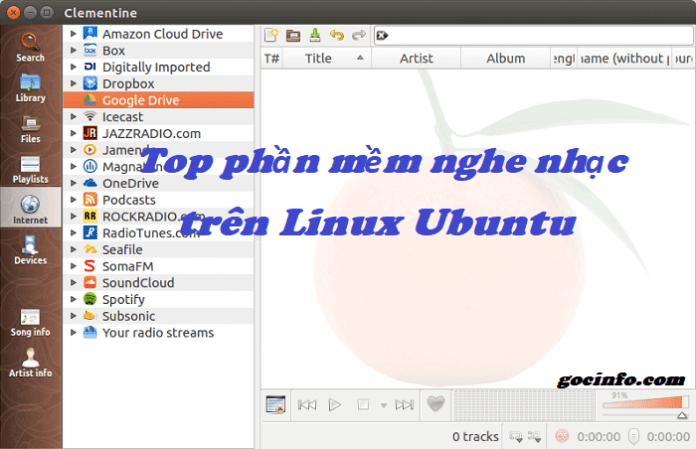 Top 4 phần mềm nghe nhạc trên Ubuntu - Linux