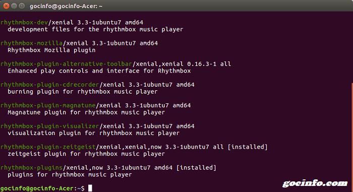 Top phần mềm nghe nhạc trên Linux Ubuntu