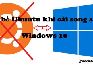 Xóa bỏ Ubuntu khi cài song song Windows an toàn