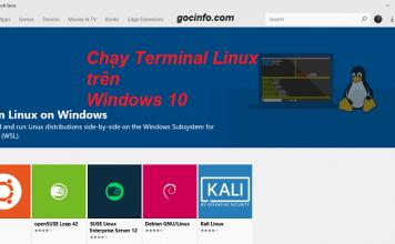 Chạy Linux - Ubuntu trên Windows 10 - không máy ảo, không cài song song