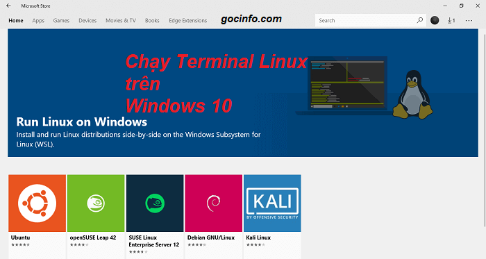 Chạy Ubuntu trên Windows 10 – không máy ảo, không cài song song