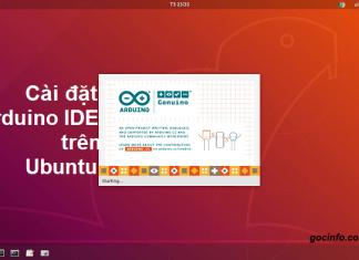 Hướng dẫn cài đặt Arduino IDE trên Ubuntu 18.04 LTS