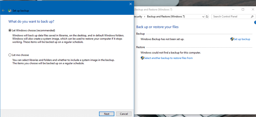 Những cách sao lưu dữ liệu máy tính Windows 10 không cần phần mềm