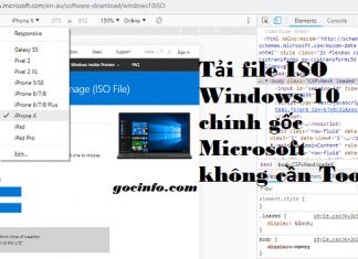 Cách tải file ISO Windows 10 chính gốc từ Microsoft không cần Tool