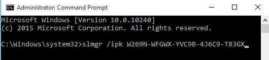 Kích hoạt Windows không cần phần mềm chỉ dùng CMD