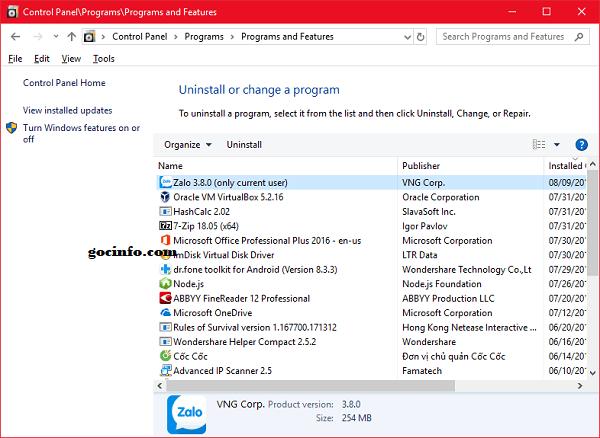 Những việc cần làm trước khi cài Windows 10