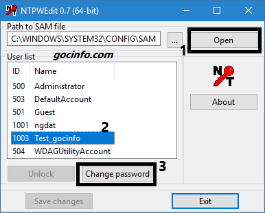 Cách phá mật khẩu Windows 10 bằng Hiren's Boot 2018