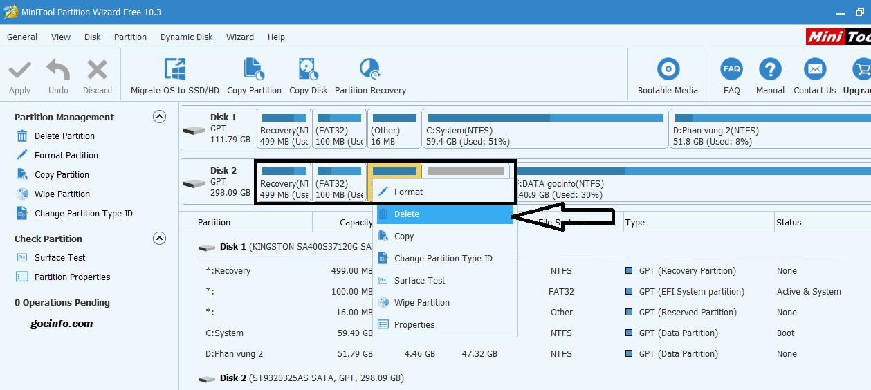 Chuyển hệ điều hành Windows sang ổ cứng SSDHDD mới
