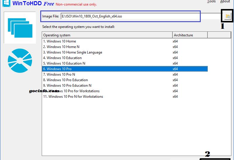 Cài Windows 10 từ ổ cứng không cần USB | Góc Info