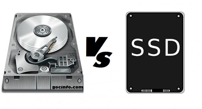So sánh tốc đọ SSD và HDD