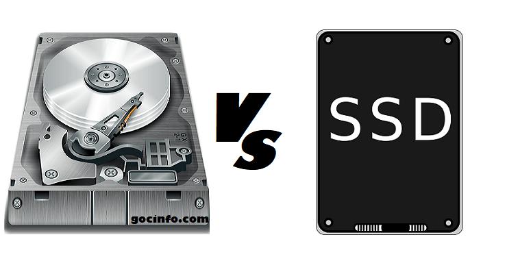 So sánh tốc độ đọc, ghi SSD và HDD chuẩn SATA