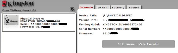 Cách kiểm tra SSD Kingston chính hãng