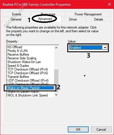 Khởi động máy tính từ xa với Wake on LAN