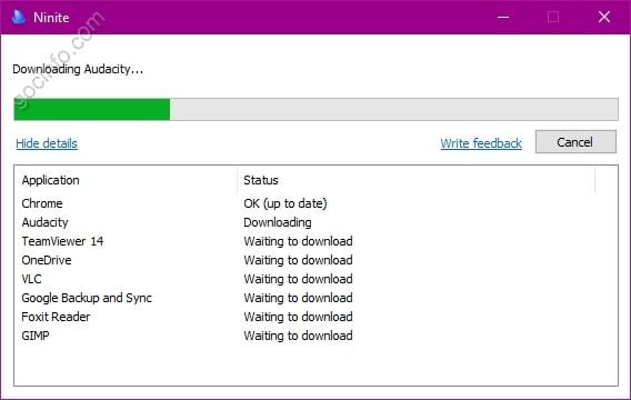 Tạo gói cài đặt nhiều phần mềm cùng lúc