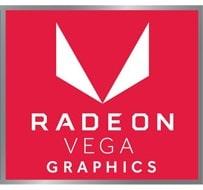 GPU tích hợp Radeon Vega 8 Graphics