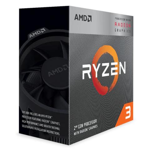 Cấu hình máy tính chơi game 7 triệu với CPU AMD Ryzen 3 3200G