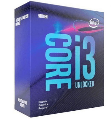 Build PC 10 triệu với CPU i3 9100F