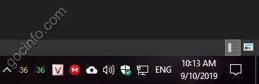 Hiển thị nhiệt độ CPU ở Taskbar Windows