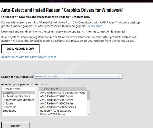 Cài đặt driver card đồ họa AMD