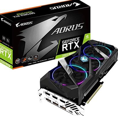 Card màn hình GIGABYTE AORUS GeForce RTX 2060 SUPER